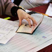 """Parlamentswahl: """"Geeintes Rußland"""" erzielte eine Mehrheit Foto: (c) dpa"""