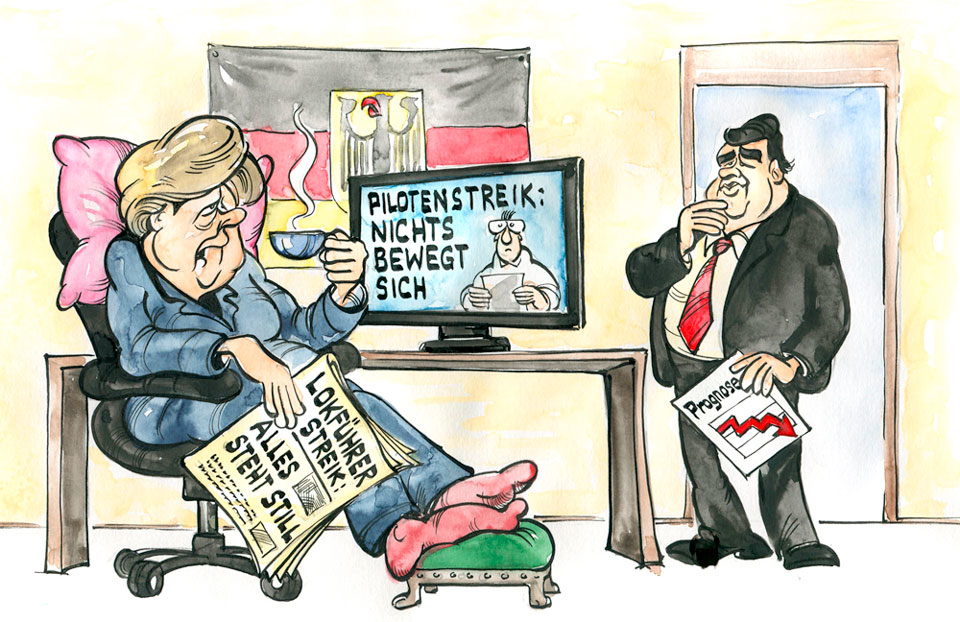 Karikatur der Woche 44/14