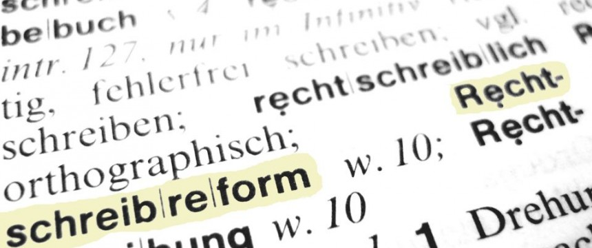 Rechtschreibreform: Katastrophal gescheitert Foto: www.pixelio.de / Claudia Hautumm