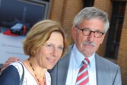Das Ehepaar Thilo und Ursula Sarrazin: Ätzende Kritik am Regierungsprogramm Foto: picture alliance / dpa