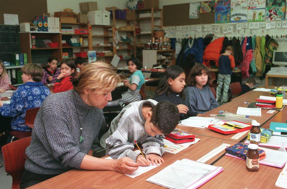 Deutsch-türkische Schulklasse