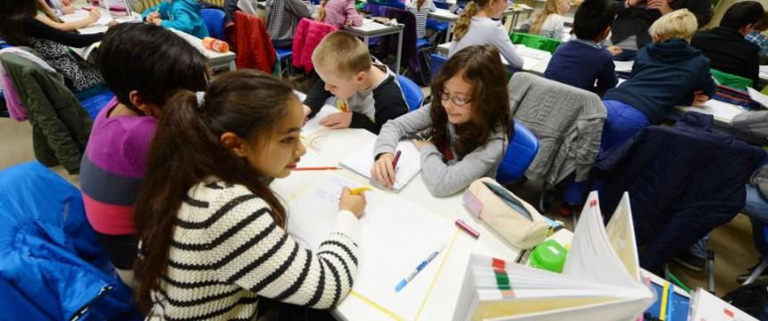 Schüler des Theodor-Heuss-Gymnasium in Pforzheim: Am liebsten nur mit deutschen Kindern lernen Foto:  picture alliance/dpa