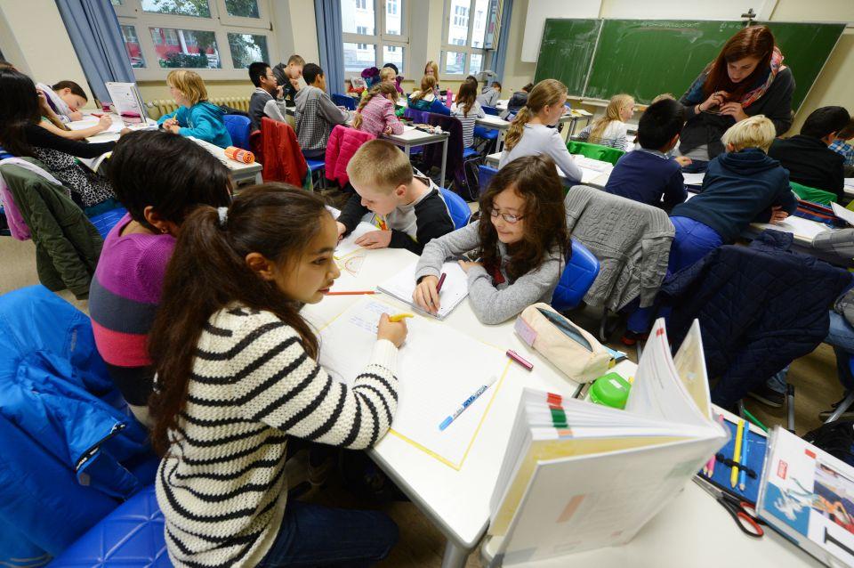Schulklasse des Theodor-Heuss-Gymnasiums Pforzheim