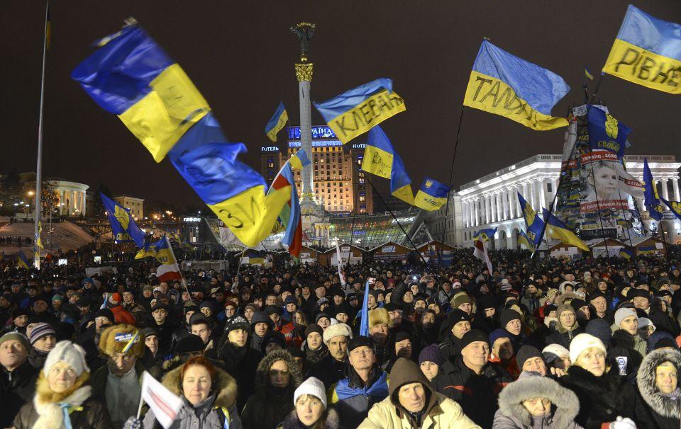 Pro-Europa-Demonstration in Kiew