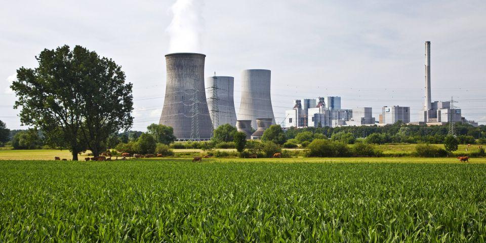 Kohlekraftwerk in Westfalen