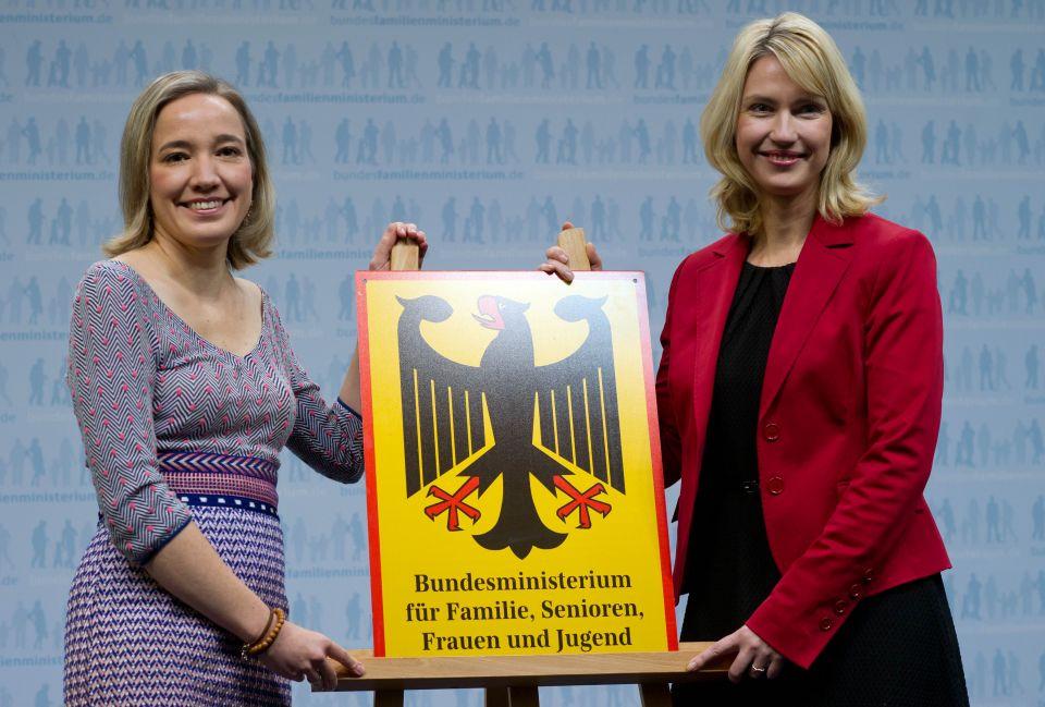 Kristina Schröder (links) und Manuela Schwesig