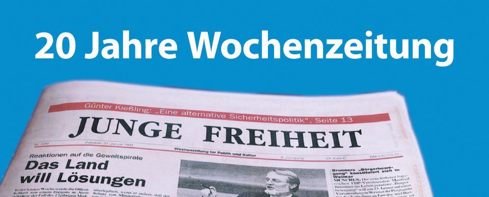 Zwanzig Jahre Wochenzeitung