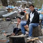 Zigeuner in einem Lager bei Belgrad: Foto: picture alliance / dpa