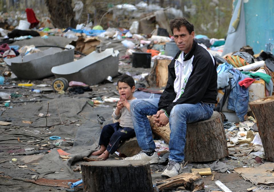 Zigeuner in Belgrad