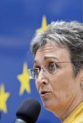 Die Grünen-Europaabgeordnete Ulrike Lunacek: Es geht um Macht Foto:  picture alliance/APA/picturedesk.com pixel