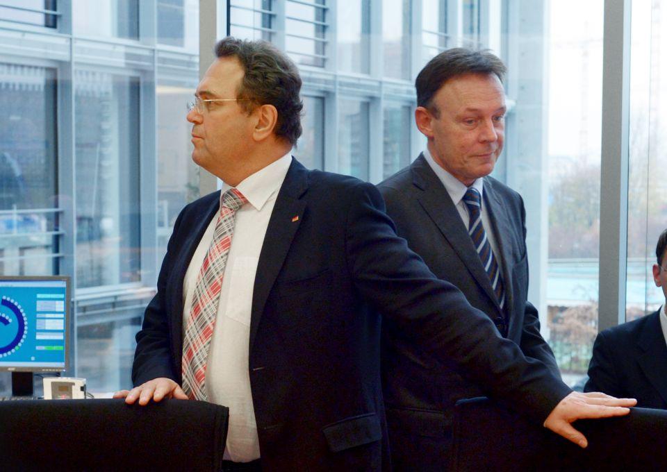 Hans-Peter Friedrich und Thomas Oppermann