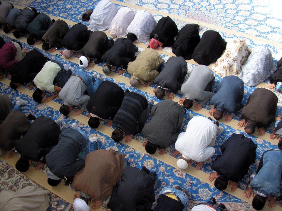 Moslems beim Gebet