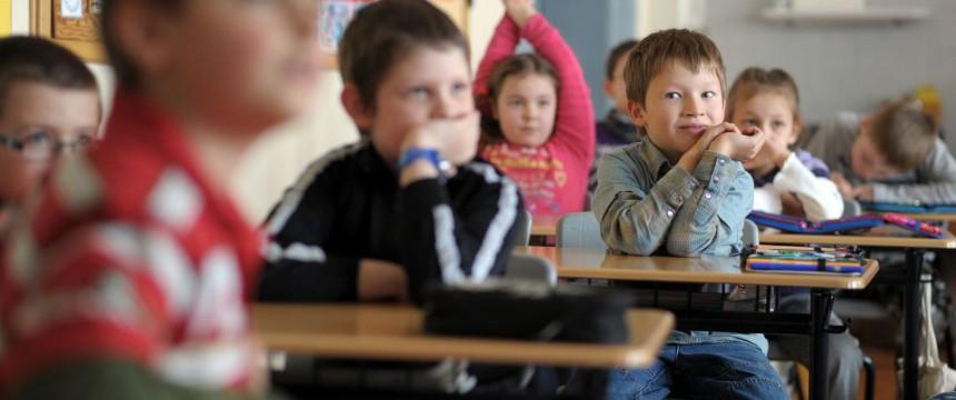 Kinder in einer Inklusionsschule: Der Schulfrieden wird durch Aktionismus zerstört Foto: picture alliance/dpa