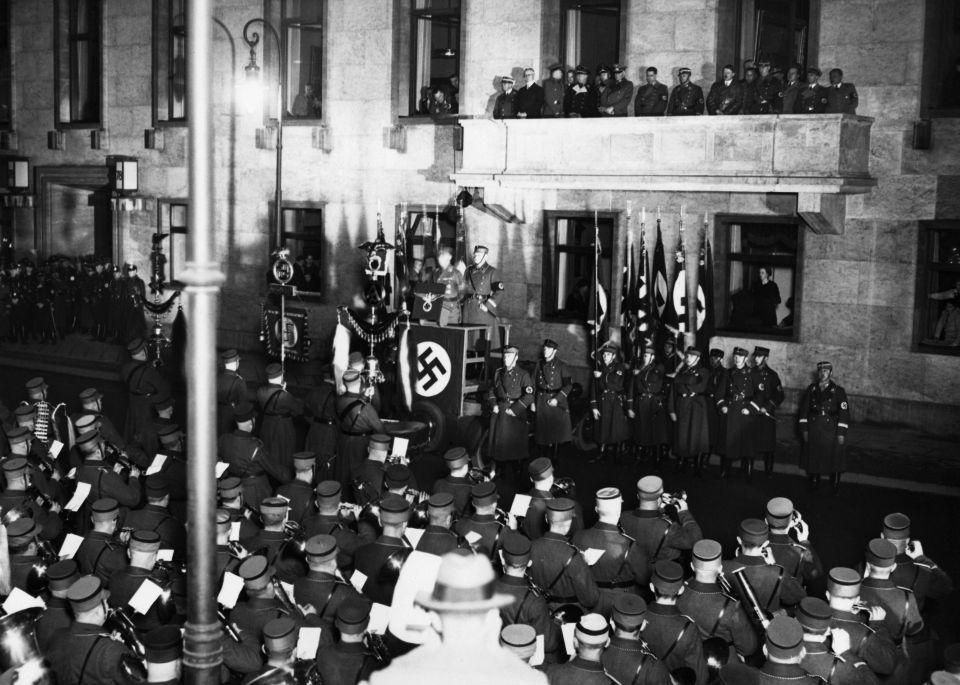Jahrestag der Machtergreifung 1936