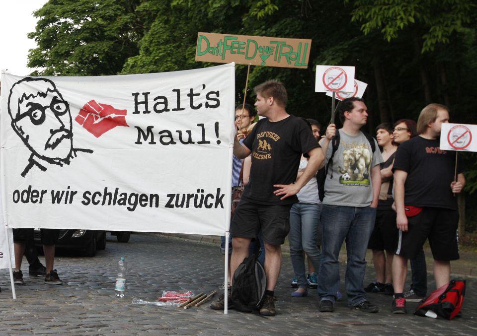 Anti-Sarrazin-Demonstranten