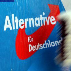 AfD-Wahlplakat: Parteitag soll auch Vorstandsposten wählen Foto:  picture alliance/dpa