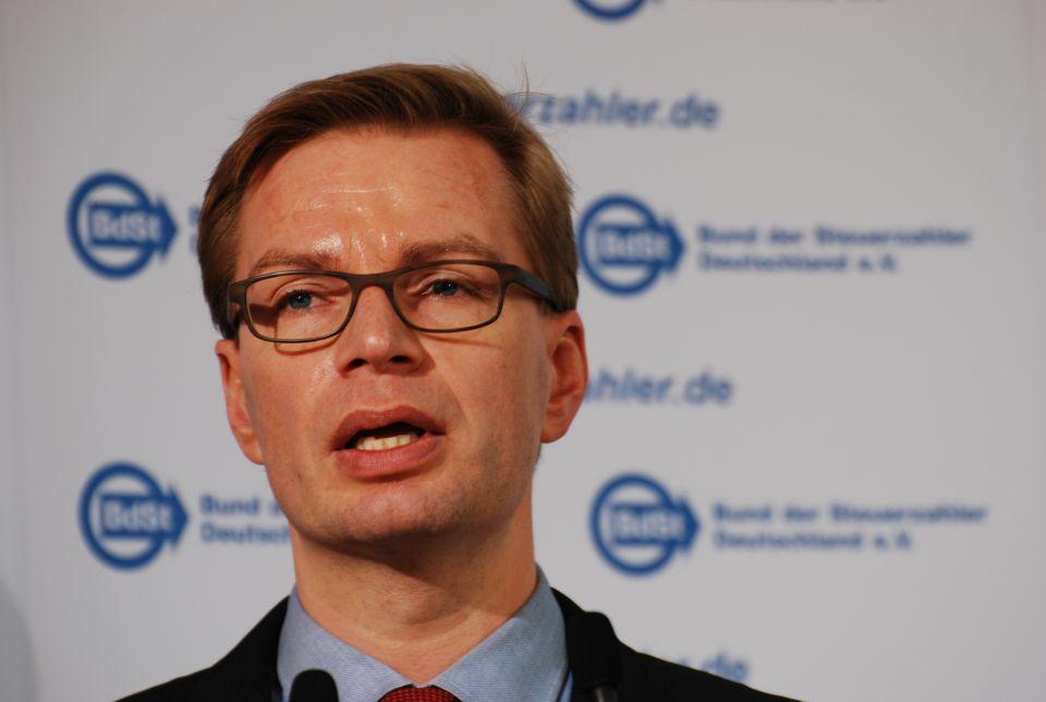 BdSt-Chef Reiner Holznagel Foto: rg