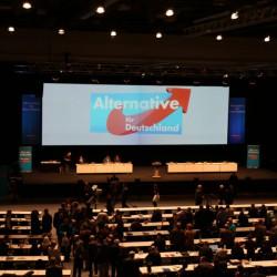 Die Halle füllt sich allmählich. Foto: ms