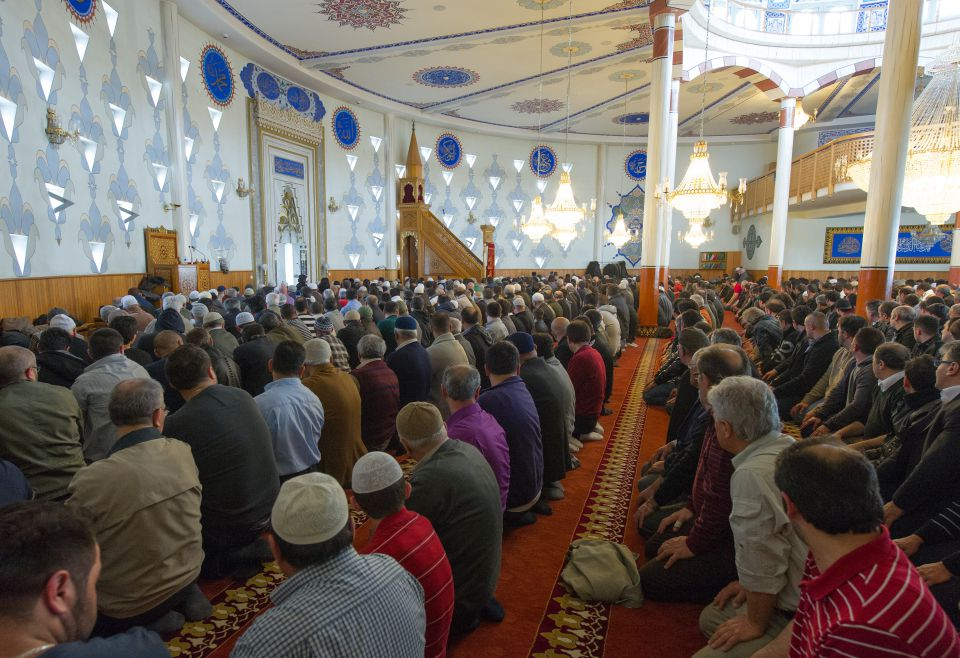 Moslems in Mannheim