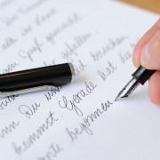 Schreibschrift: Bald nur noch Grundschrift? Foto:  picture alliance/dpa