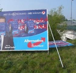... und in Bremen Fotos: AfD