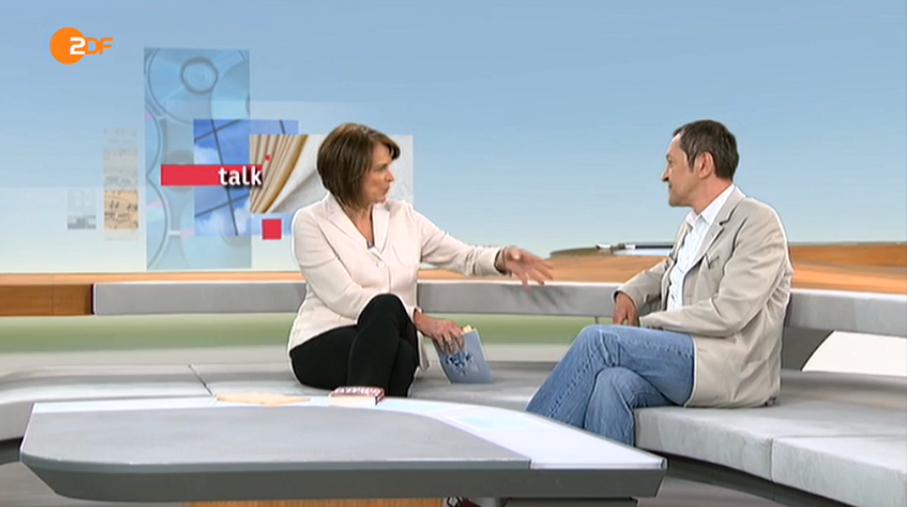 Akif Pirincci im ZDF-Interview