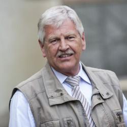 Udo Voigt: Am Ende fraktionslos? Foto: dpa