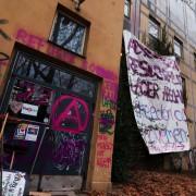 Gerhart-Hauptmann-Schule: Linksextremisten bedrohen Grüne Foto: dpa