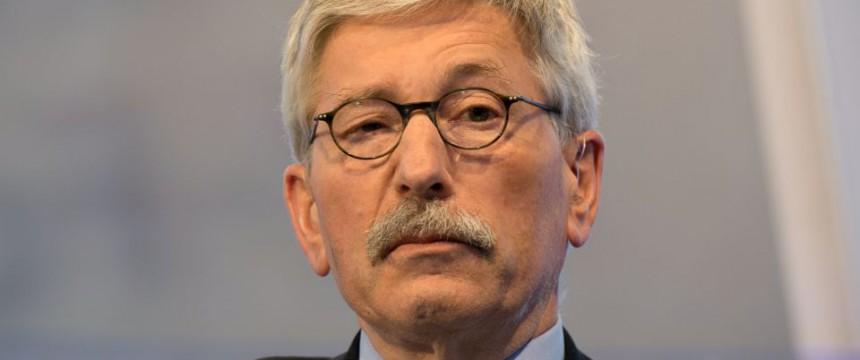 Thilo Sarrazin bei einem Auftritt in der ARD Foto: picture alliance/dpa