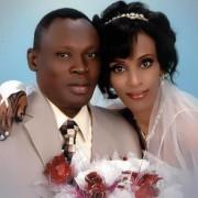 Mariam Jahia Ibrahim Ishak und ihr Mann: Endlich freigelassen Foto: Facebook