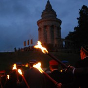 Burschenschafter während ihres Verbandstreffens in Eisenach Foto: JF