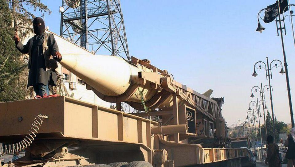 Scud-Rakete in ISIS-Händen