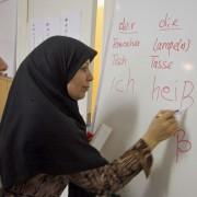 Deutschkurs: Sprache als vermeintlicher Schlüssel zur Integration Foto: picture alliance
