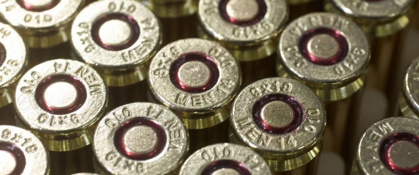 Patronen des Kalibers 9mm: Gehen Jägern und Sportschützen bald die Munition aus? Foto:  picture alliance / dpa