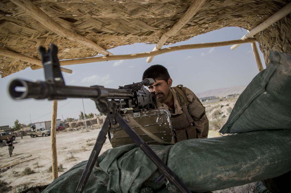 Kurdischer Soldat: