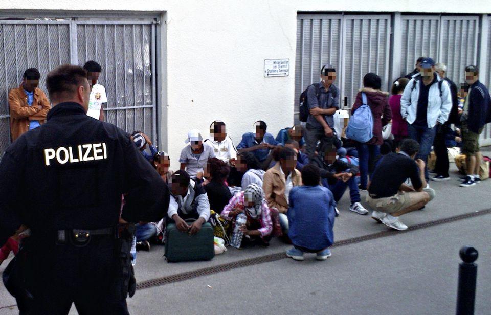 Illegale Einwanderung