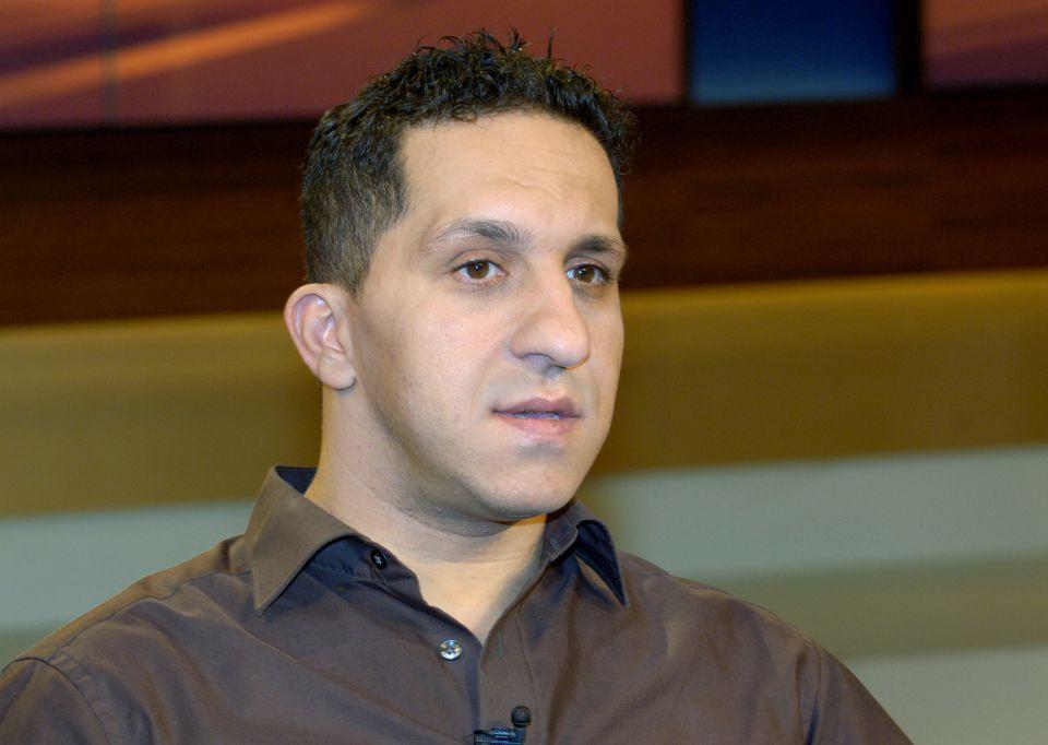 Fadi Saad bei einem Fernseh-Auftritt