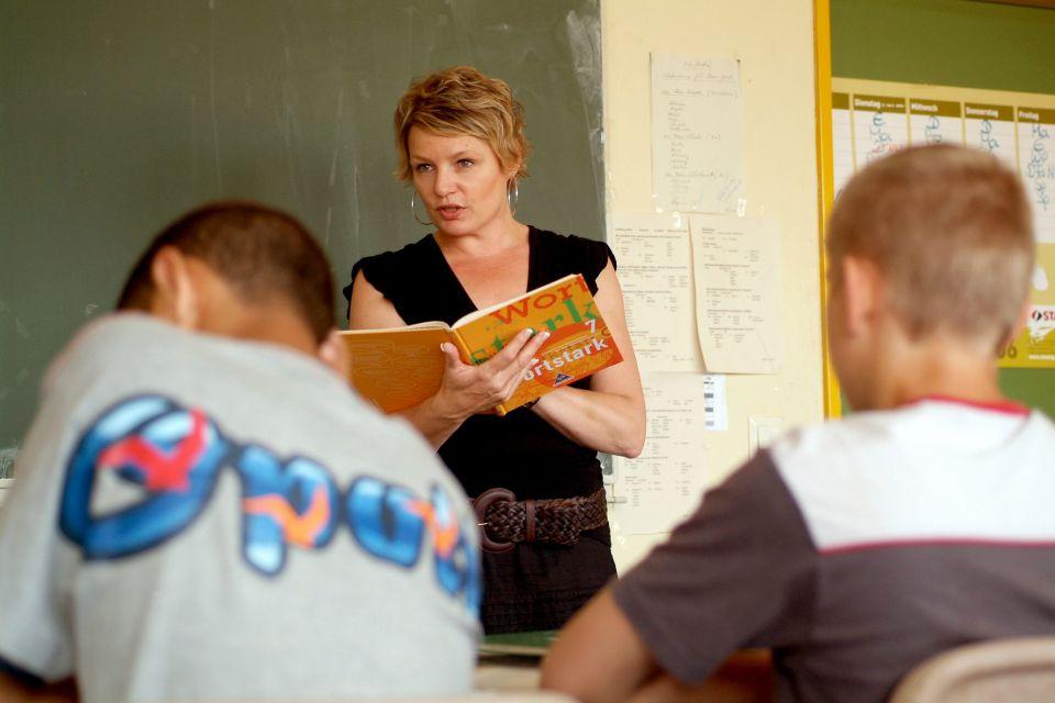 Schüler einer Hauptschule