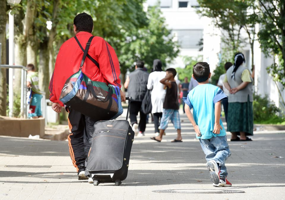 Asylbewerber in Karlsruhe