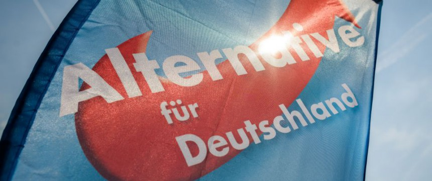 Logo der Alternative für Deutschland (AfD) Foto: picture alliance/dap