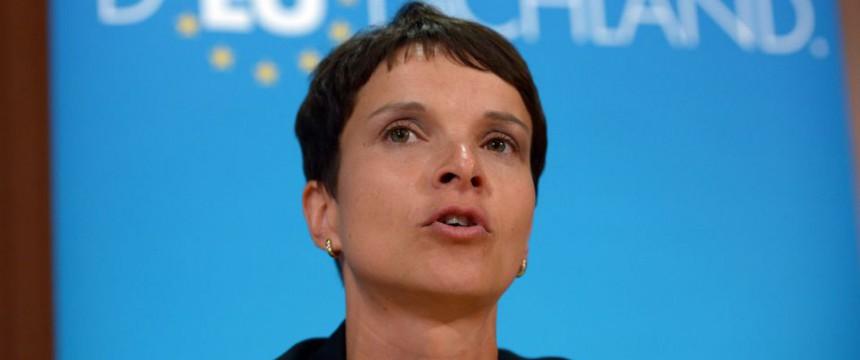 AfD-Sprecherin Frauke Petry: Die Bürger lassen sich nicht mehr täuschen Foto: picture alliance/dpa