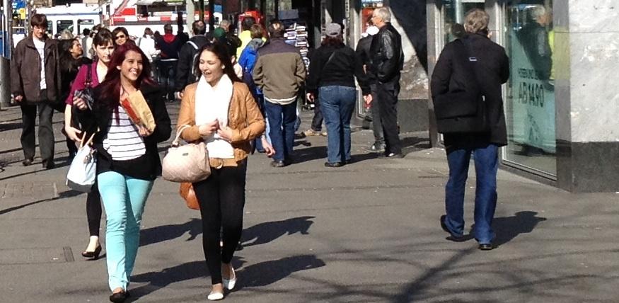 Zürich: Die Mehrheit der Schweizer lehnt die Einheitsversicherung ab Foto: rg