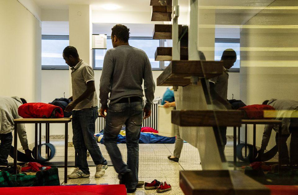 Afrikaner im DGB-Haus