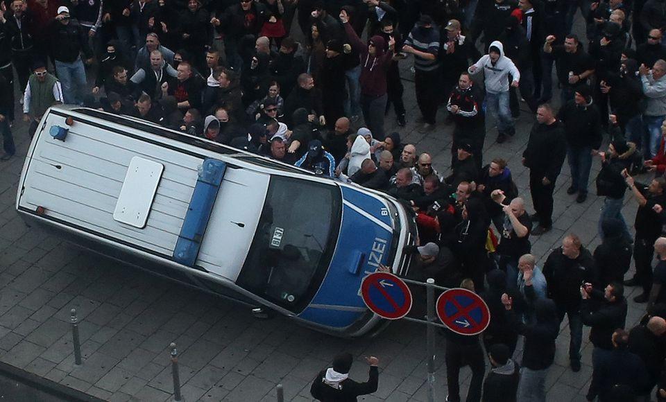 Hooligan-Protest