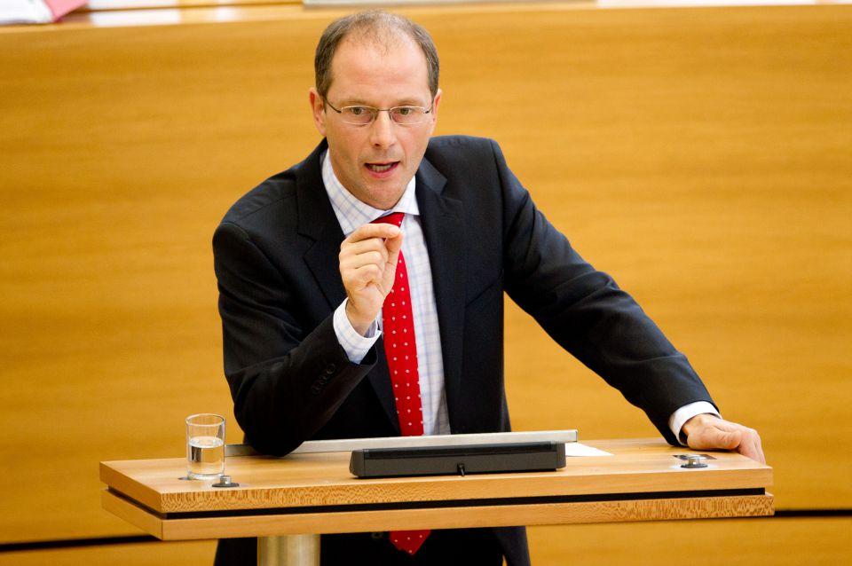 Markus Ulbig im Landtag