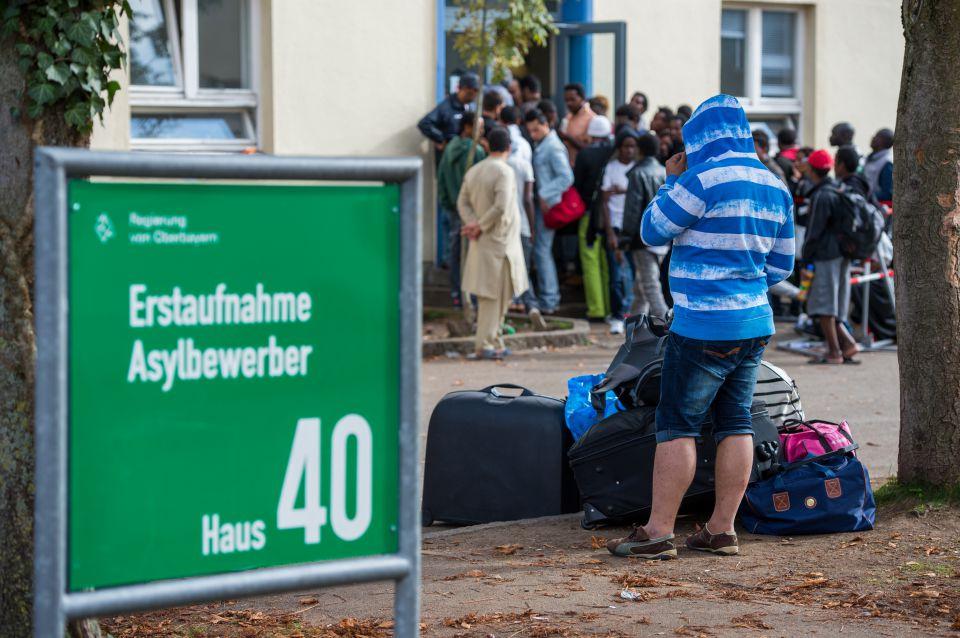 Erstaufnahmestelle in München