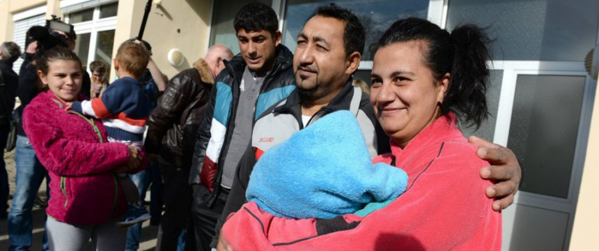 Asylbewerber in der einer Erstaufnahmestelle  in Baden-Württemberg Foto: picture alliance/dpa