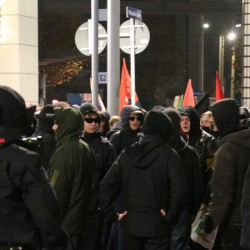 Anti-Pegida-Demonstranten Foto: JF