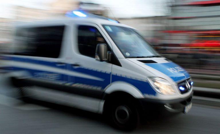 Polizeiwagen in Hamburg