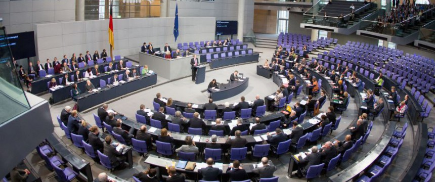 Plenarsaal im Reichstag Foto: picture alliance/dpa